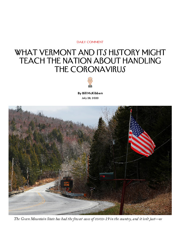 What Vermont and Its History Might Teach the Nation About Handling the Coronavirus _ The New Yorker.pdf