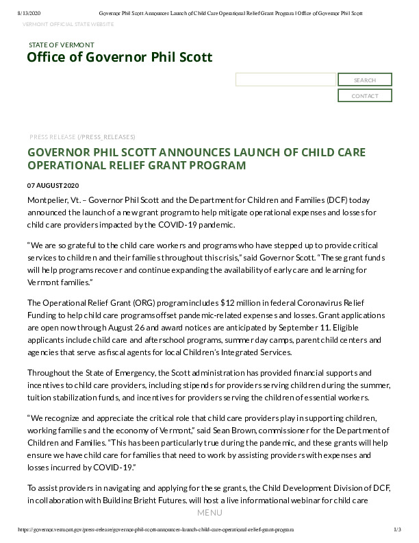 Governor Phil Scott Announces Launch of Child Care Operational Relief Grant Program _ Office of Governor Phil Scott.pdf