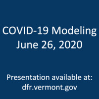State's COVID-19 Model, through June 26