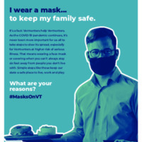 Poster - I Wear a Mask - Restaurant Server - 8.5x11.pdf