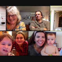 Thanksgiving Zoom With Family